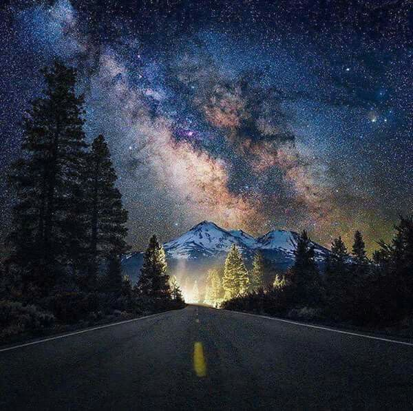 Shasta, Stargazing, Nature