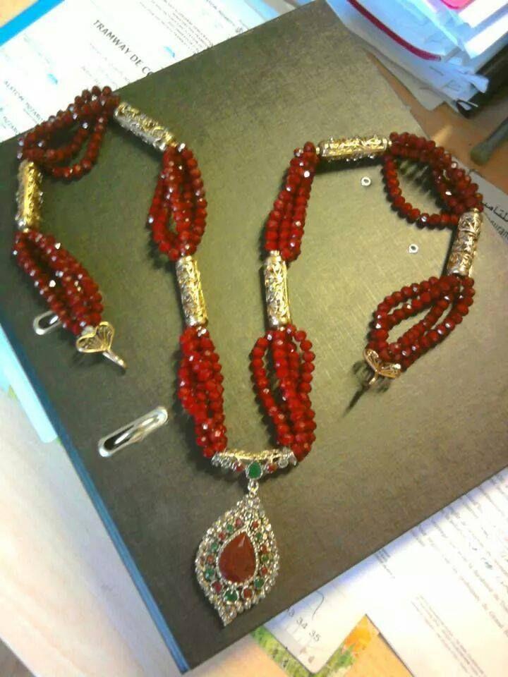 مجوهرات تقليدية جزائرية  للتصديرة