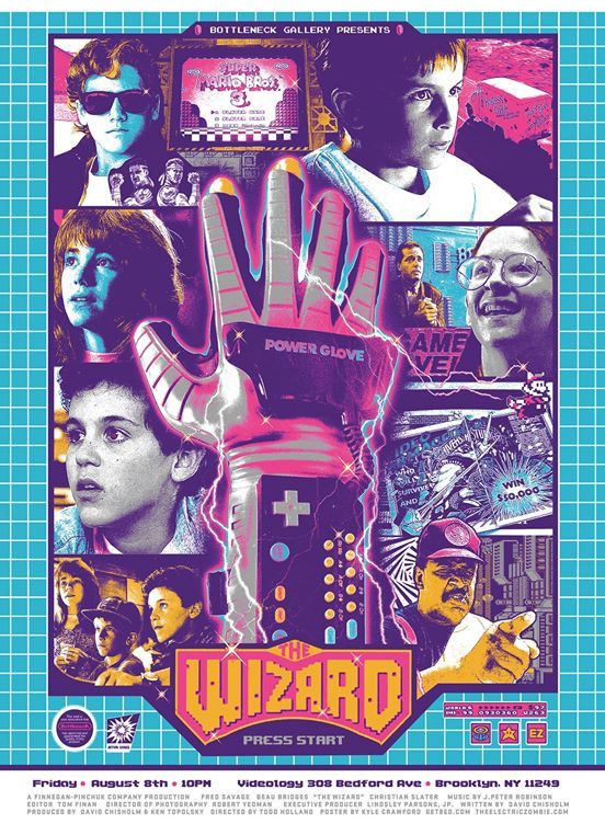 """Kyle Crawford """"The Wizard"""" Sold Out Power glove, Funny"""