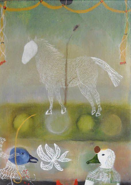 Untitled by American artist Katherine Dunn of Apifera Farm. via the artist's site