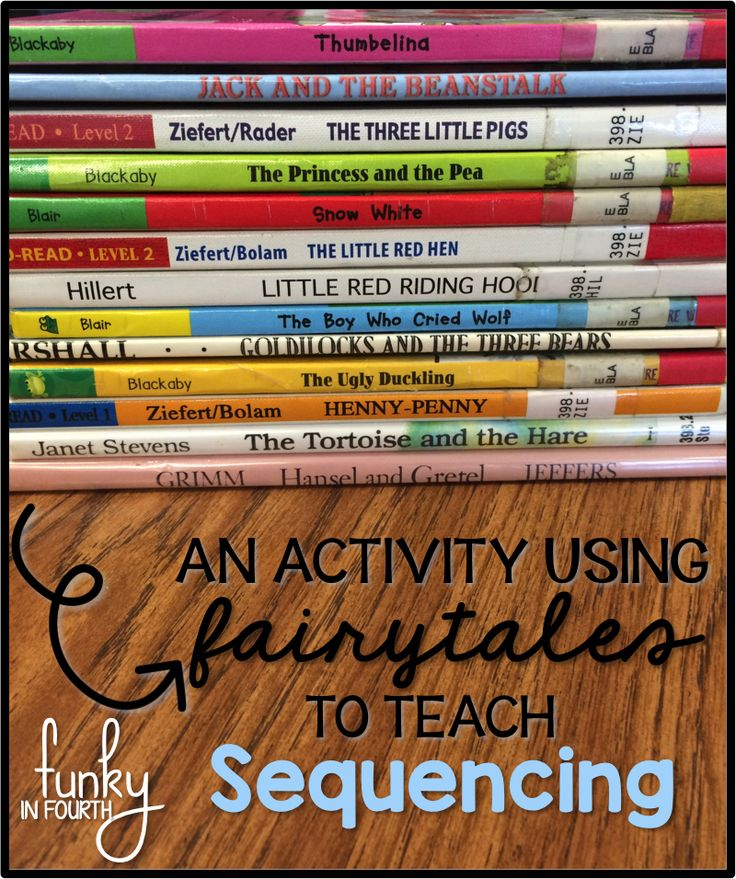 This blog post is all about how you can use fairytales to teach sequencing. Stop over and check out all of the details and pictures so you can try it with your students!