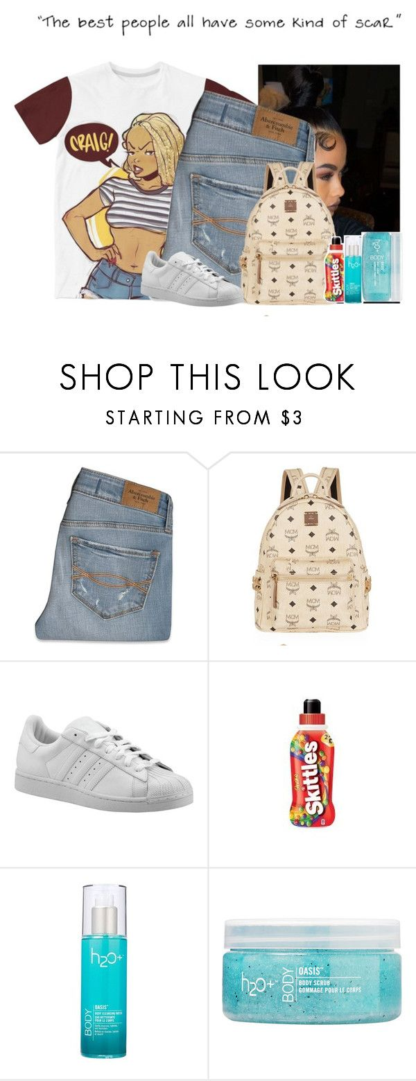 """""""Untitled #354"""" by clarinet4ever ❤ liked on Polyvore featuring Abercrombie & Fitch, MCM, adidas Originals and H2O+"""