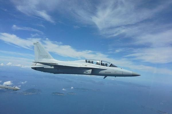 Philippine Air Force receiving South Korean FA-50 jets The Philippines will receive on Friday the first two of 12 FA-50 Golden Eagle jets from Korea Aerospace Industries.