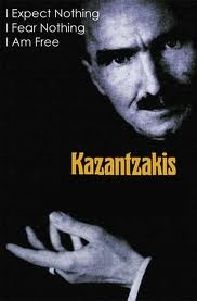 Nikos Kazantzakis (18 February 1883 – 26 October 1957) was a Greek writer, celebrated for his novels, which include Zorba the Greek (published 1946 as Life and Times of Alexis Zorbas), Christ Recrucified (1948), and The Last Temptation of Christ (1955). He also wrote philosophical essays such as The Saviors of God: Spiritual Exercises.
