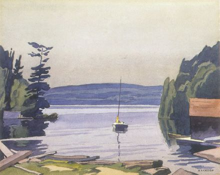A.J. Casson (Group of Seven); Port Carling - Giclee Reproduction