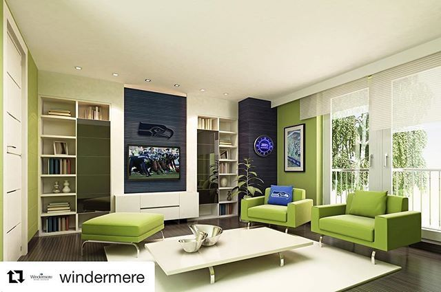 For years, Windermere and Realty Trust have operated under a shared, fundamental belief, relationships are more important than transactions! I️ couldn't be more thrilled to combine forces a Windermere Realty Trust @windermere  Oh and how cool is this!  How cool is this! 💚💙 #Repost @windermere ・・・ Seahawks Tickets Give Away! 🏈 Do you have the ultimate Seattle Seahawks fan cave? Do you want to win tickets to a Seahawks home game? If so, Windermere and the Seahawks want you to show us your…