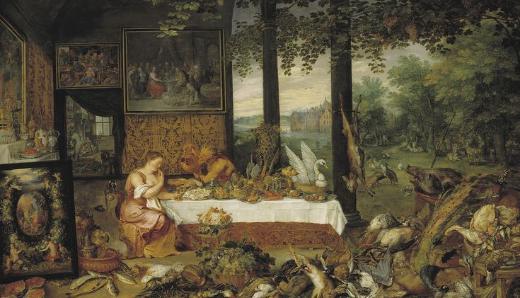 Jan Brueghel I & Peter Paul Rubens - Taste (Museo del Prado) - The Five Senses (series) - Wikipedia, the free encyclopedia