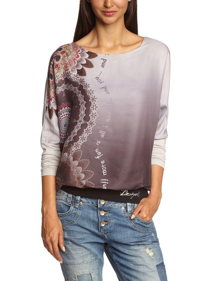 Desigual Women's Blus_Marisa at Amazon Women's Clothing store: