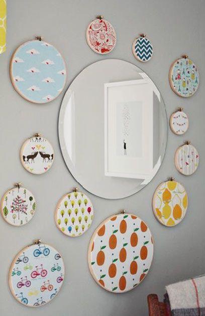 13 projetos com espelhos redondos que estão bombando no Pinterest - Casa