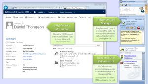Bring up callers' CRM records automatically with intelli-CTi #CTI #telephony #CRM #MSDynCRM