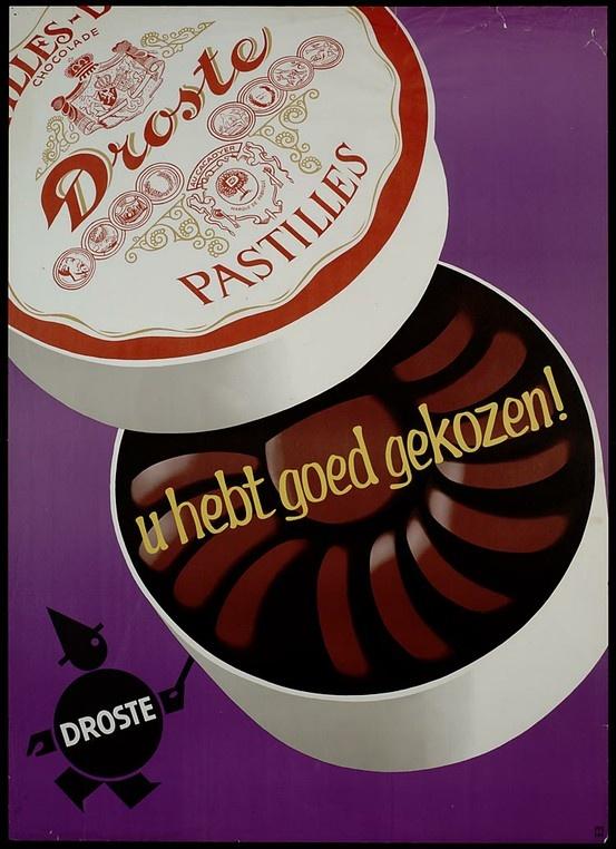 Droste pastilles, of droste flikken zoals ze al snel bekend werden in de volksmond, worden nog steeds gemaakt, en bestaan in een wijde variatie van smaken.