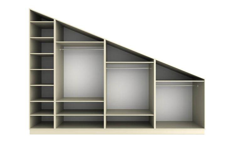 storage for sloped ceilings | Bryson Kitchens - kitchens, bedrooms & sliding wardrobes - Donegal ...