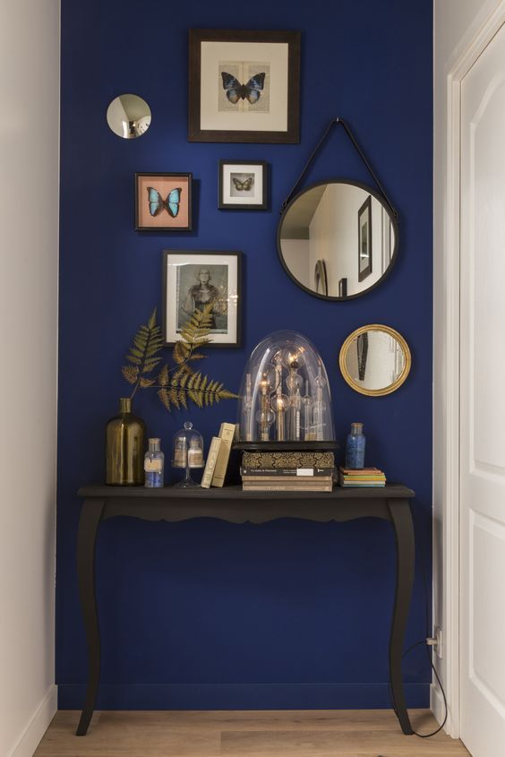 Accent Wall Colors Prepossessing 25 Best Blue Accent Walls Ideas On Pinterest  Midnight Blue Review