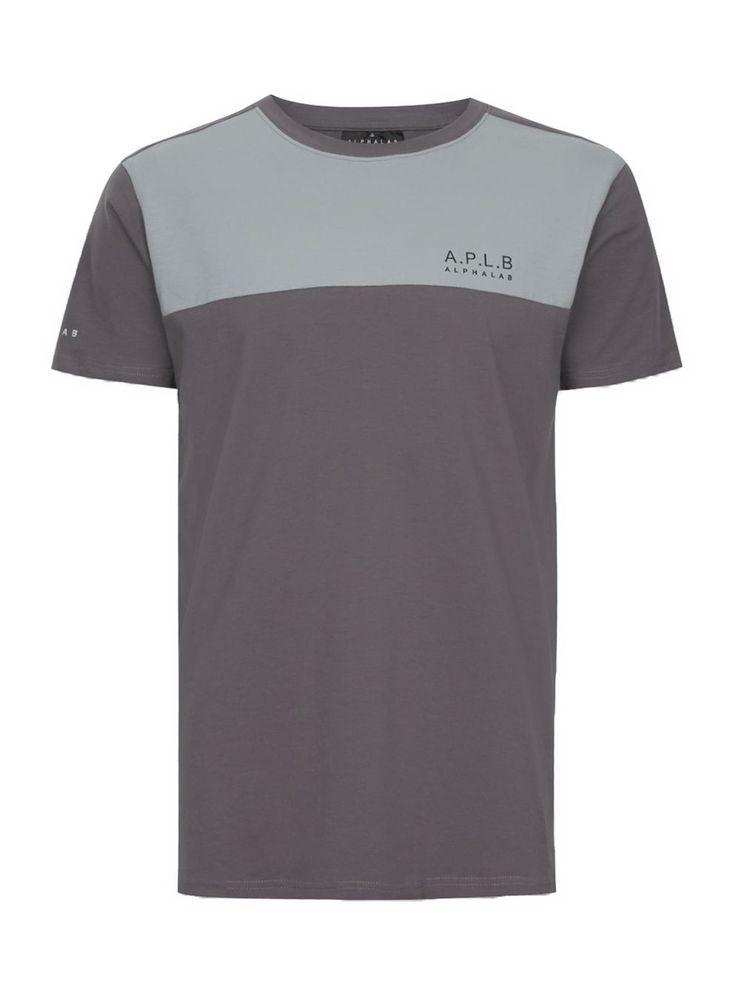 ALPHALAB Grey Logo T-Shirt