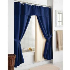 Wholehome Md Royal Ascot Double Swag Shower Curtain Redoing The Home Pinterest Bathroom And Curtains