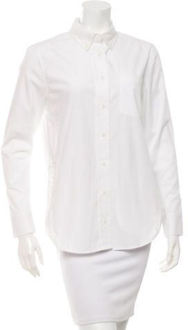 Veda Long Sleeve Button-Up Top
