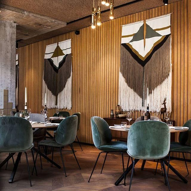GUBI // Beetle Chairs at Hotel V, Amsterdam