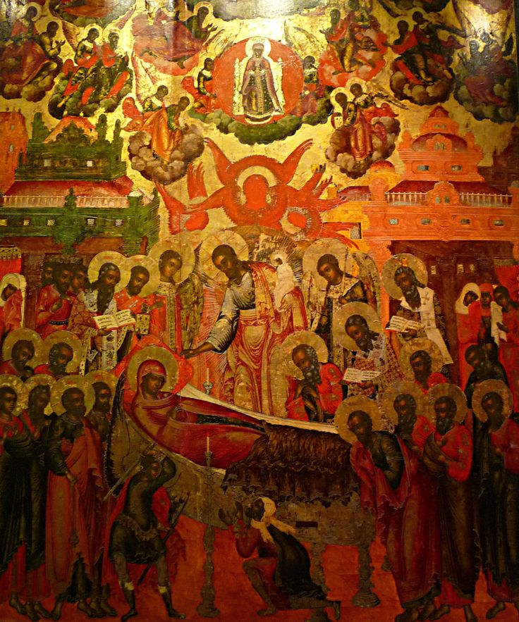 The Dormition of Theotokos