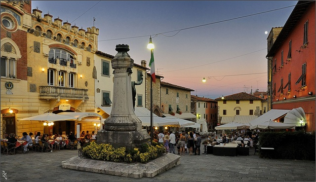 Toscana - Montecatini Alto by PM Gaury, via Flickr    This is the little town where I had a tiny apartment up by the bell tower.