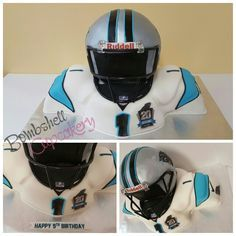 Cam newton carolina panthers football player cake