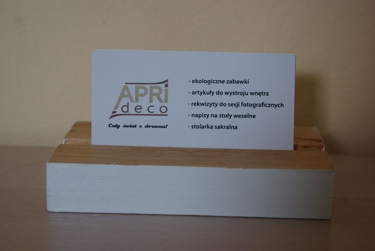Wizytowniki / Business card holder - Aprideco