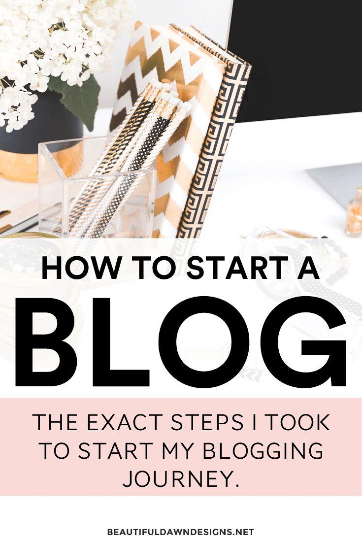How to start a blog on WordPress. Start a blog for beginners tutorial.
