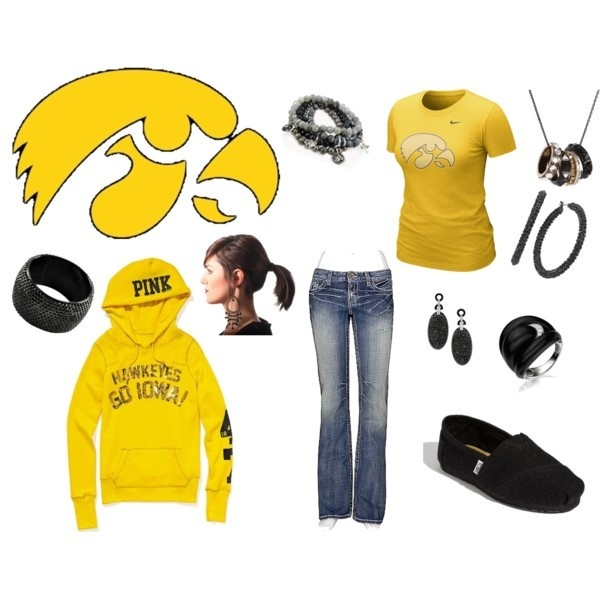 Iowa Hawkeyes, created by claires7