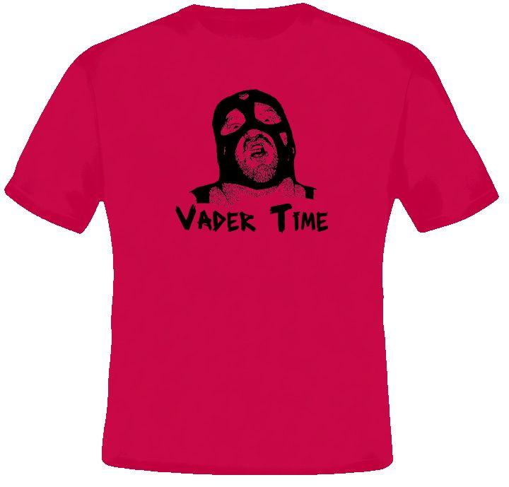 vintage wrestling tees | Big Van Vader Time Wrestling T Shirt