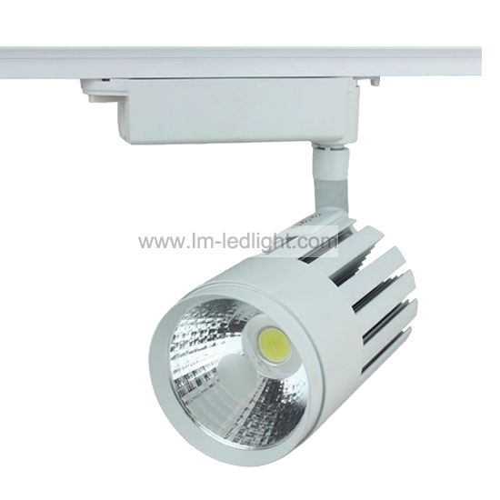 track lighting rail. cob rail track lighting 4 wire 3 phase and 2 adapter available