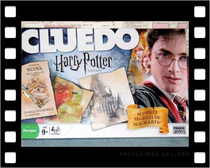 CLUEDO HARRY POTTER EDITION  MAGIA NERA A HOGWARTS ! PARKER GIOCHI 2008