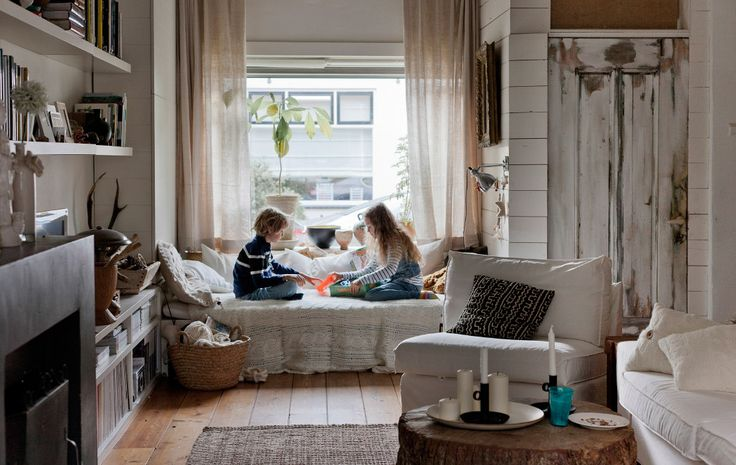 Create a window seat storage area for kids' toys | #IKEAIDEAS for the living room from #IKEAFAMILYMAGAZINE