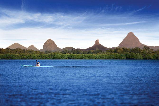 Glass House Mountains, Sunshine Coast, Queensland