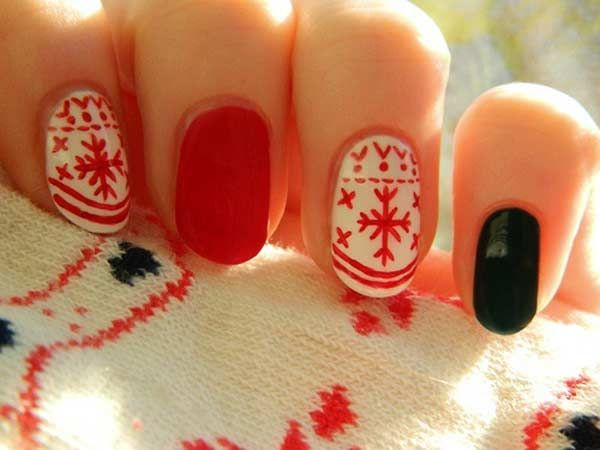 summer manicure and pedicure ideas   Latest French Manicure Designs