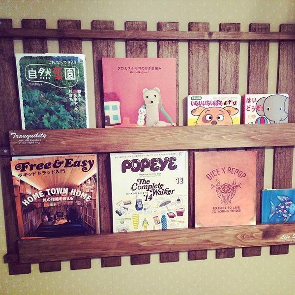 【DIY】棚・家具の作り方!100均で初心者も簡単!【壁面・絵本棚】に投稿された画像No.65