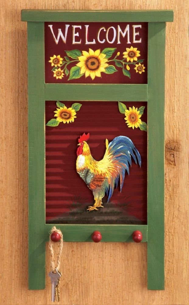 Rustic Rooster Wall Decor : Best images about crafts for everything on