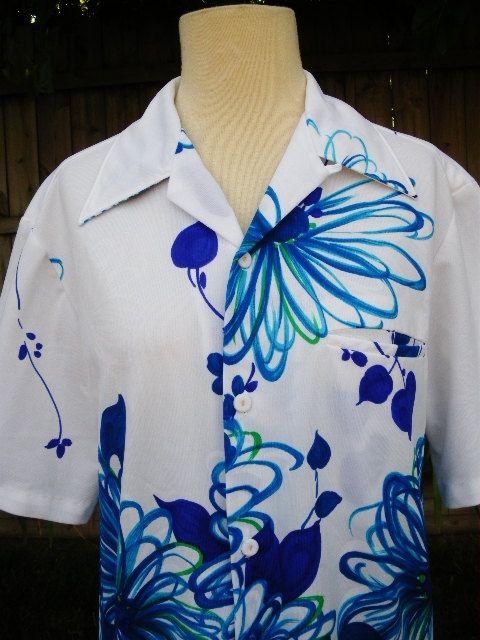 Vintage 60s hawaiian shirt Sears Hawaiian Fashions by catlady531