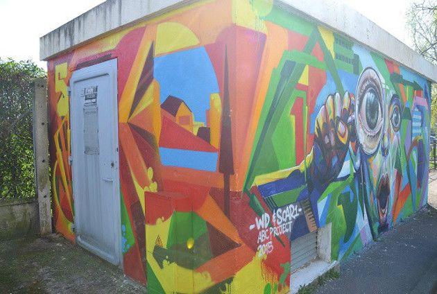 Caen. De l'art dans la rue « Article « Liberté Bonhomme Libre