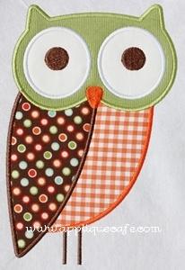 Appliquecafe.com- Owls