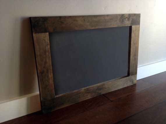 chalk board down stairs