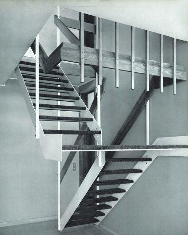 Angelo Mangiarotti y Bruno Morassutti | 1960 #mangiarotti #architecture #staircase
