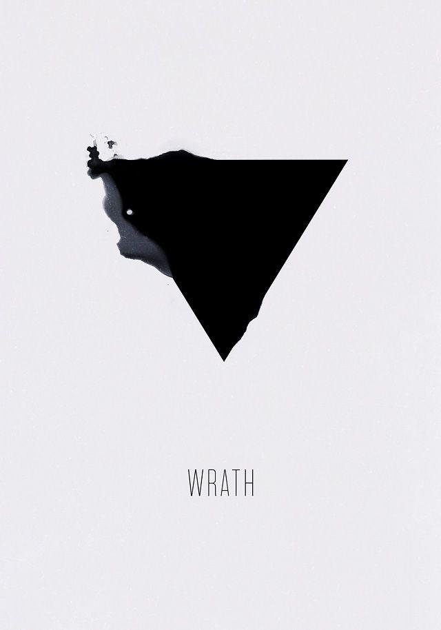 Wrath - 'Seven Sins' Poster Series by Alexey Malina