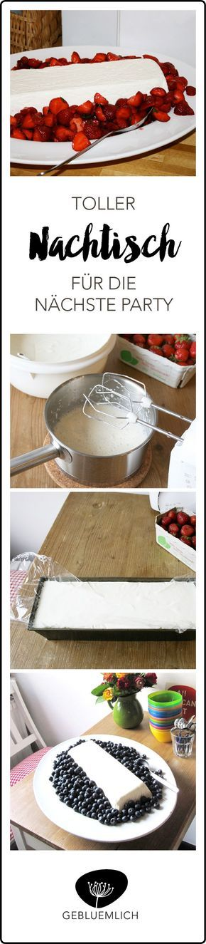 Köstlicher Nachtisch mit frischen Erdbeeren, der toll vorzubereiten ist und auf jeder Party unglaublich gut ankommt.