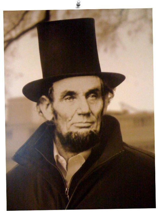 abraham lincoln with hat - Google Search                                                                                                                                                                                 More