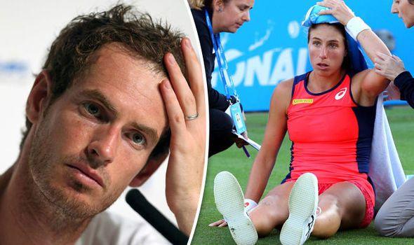 Wimbledon 2017 news LIVE: Injury latest updates - Andy Murray Johanna Konta injury scare