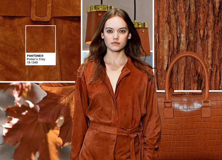 Pantone Fashion Color Report Fall 2016 - PANTONE 18-1340 Potter's Clay