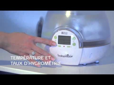 Humidificateur Babymoov : humidificateur et veilleuse 2en1