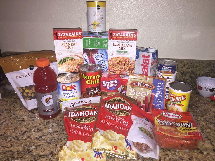 Glutenfree nonperishable hurricane or emergency prep