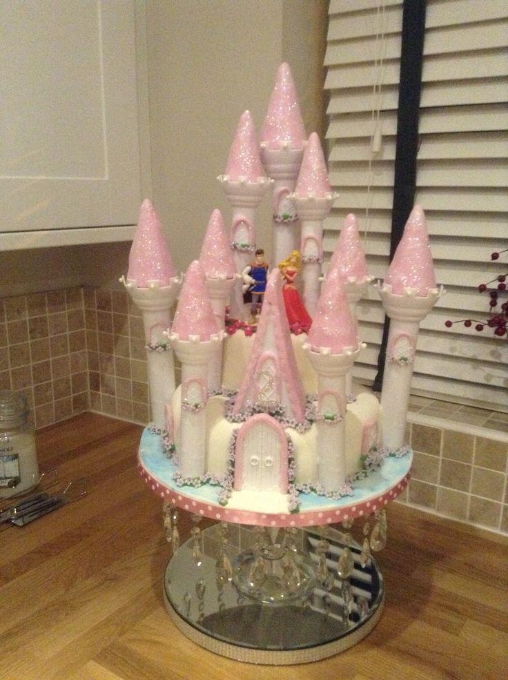 The castle cake I made x