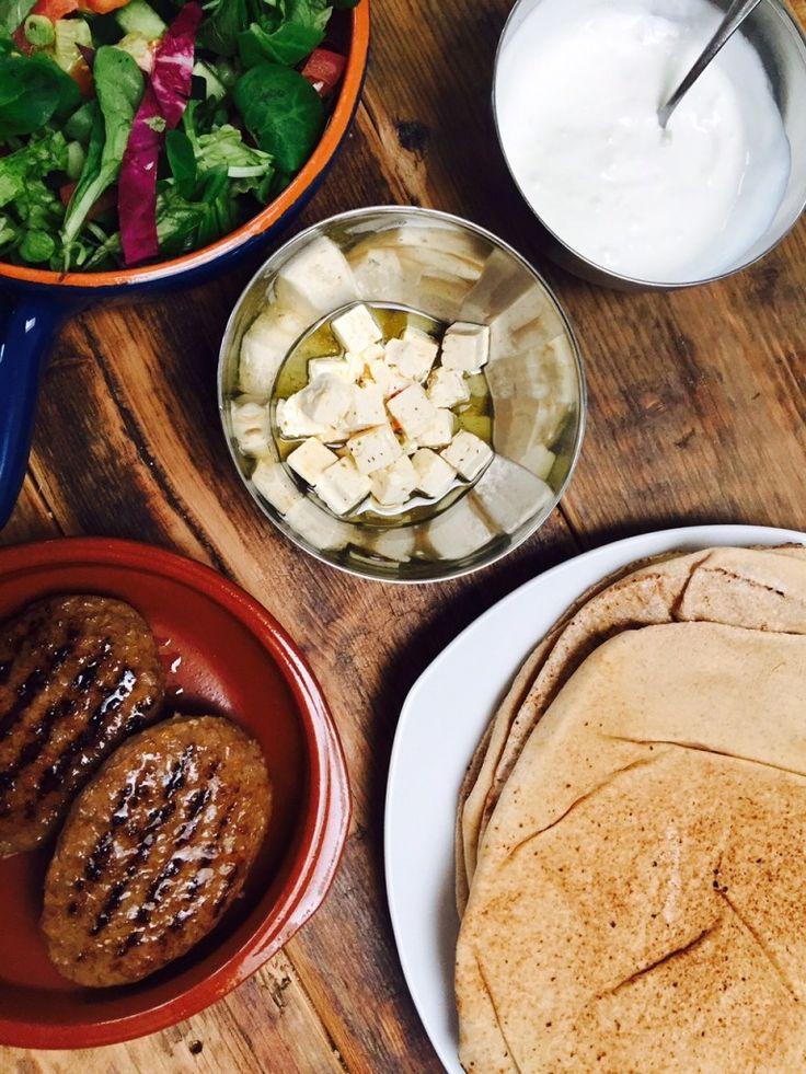 Hamburger pita recept foodblog Foodinsta ingrediënten
