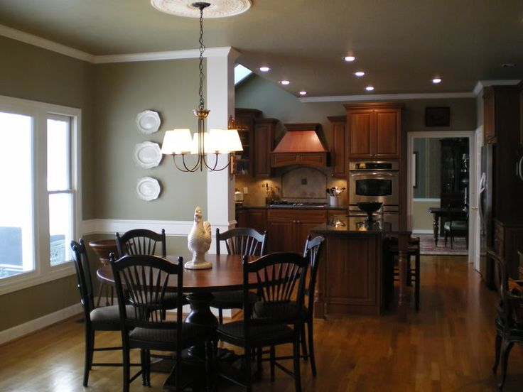 Edgewood green the perfect wall color main floor for Perfect kitchen colours